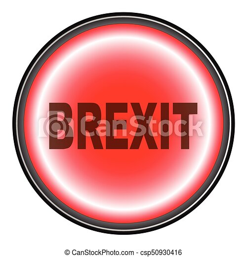 Brexit Push Button - csp50930416