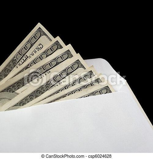 Bribe in an envelope - csp6024628