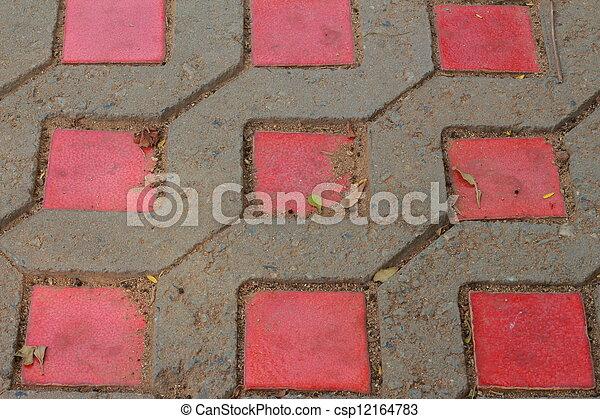 Brick background - csp12164783
