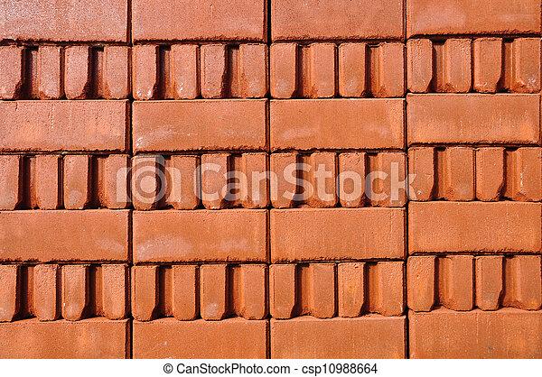 brick background - csp10988664