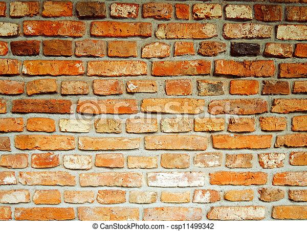 Brick background - csp11499342