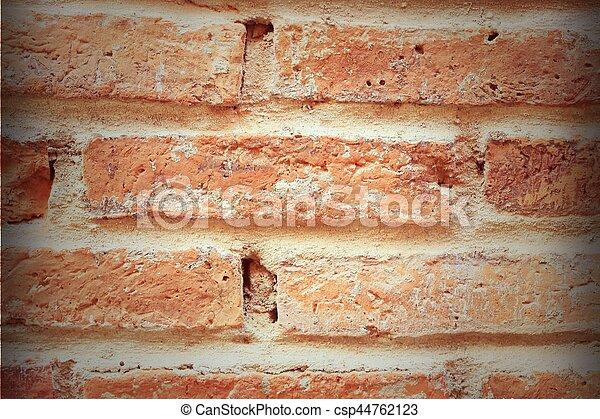 brick background - csp44762123