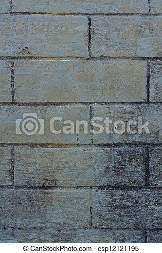 Brick background - csp12121195