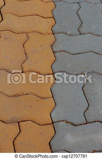 Brick background - csp12707791