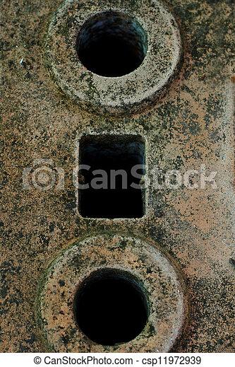 Brick background - csp11972939
