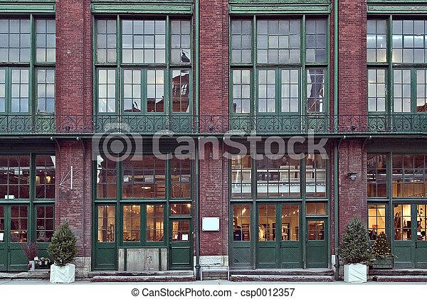 Brick building - csp0012357