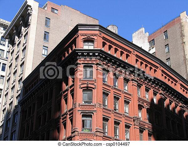 brick building - csp0104497