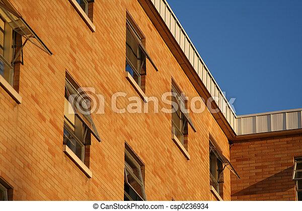 Brick building - csp0236934