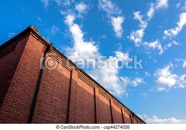 Brick building - csp44274026