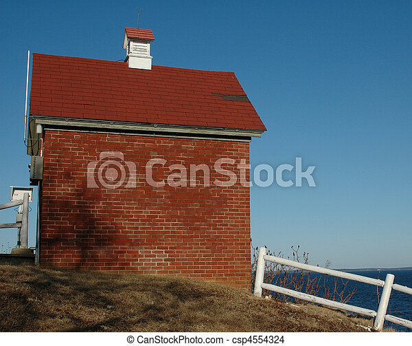 Brick Building - csp4554324