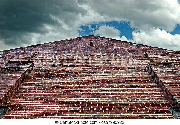 Brick building - csp7995923