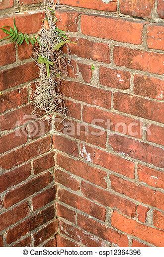 Brick Corner Background