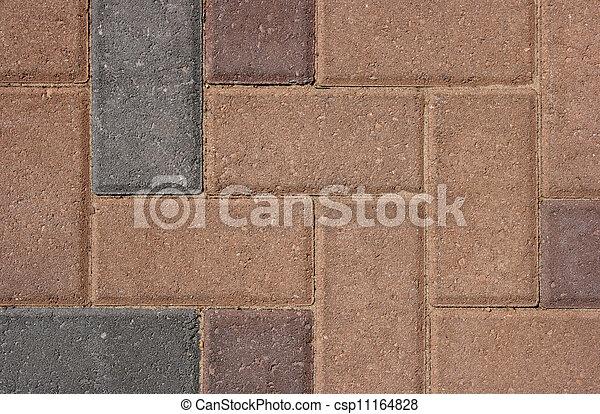 Brick Flooring Stone Pattern - csp11164828