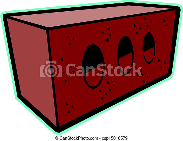 Brick For House Construction Vector