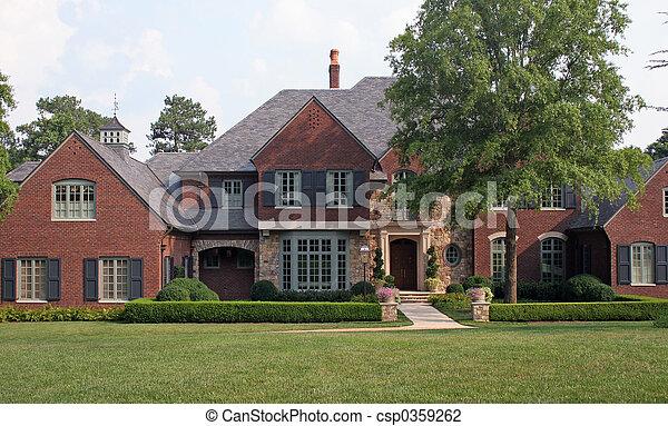 Brick House 2 - csp0359262