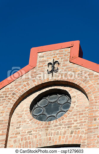 Brick House Detail  - csp1279603