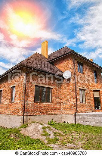 brick house - csp40965700