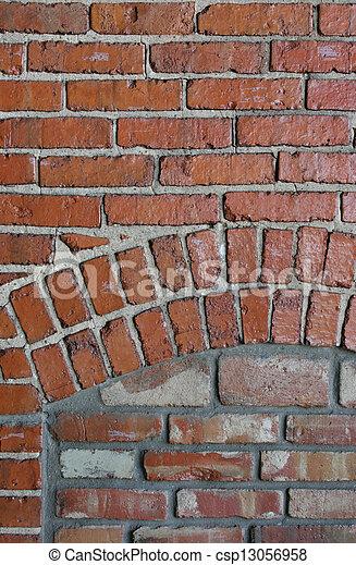 Brick Pattern - csp13056958