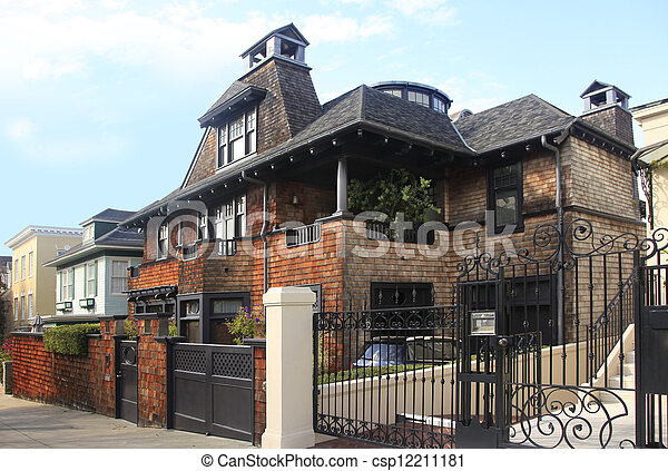Brick residential home - csp12211181