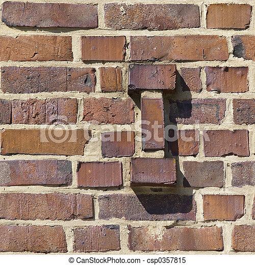 Brick Seamless 12 - csp0357815