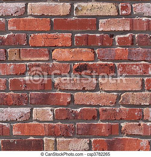 Brick seamless pattern. - csp3782265