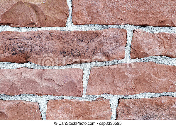brick stone exterior and interior decoration building material for wall finishing - csp3336595