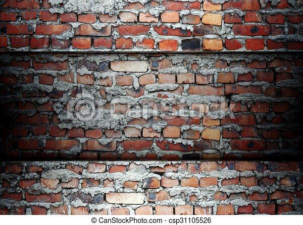 Brick Template | Brick Template Background 3d Brick Wall Template Background