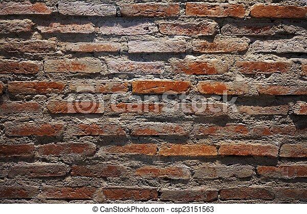 brick wall 1 - csp23151563