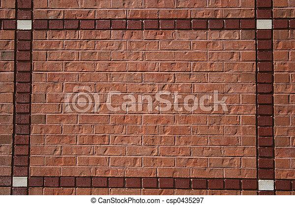 Brick Wall 2 - csp0435297