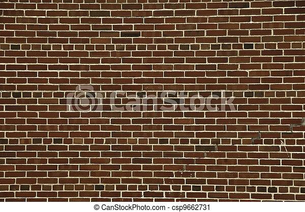 Brick Wall 2 - csp9662731