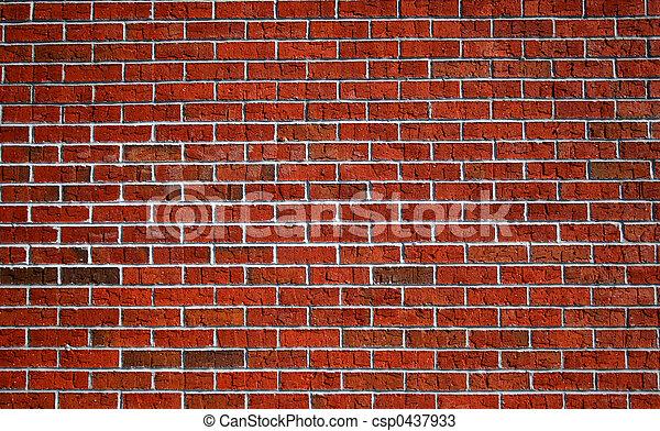 Brick Wall 3 - csp0437933