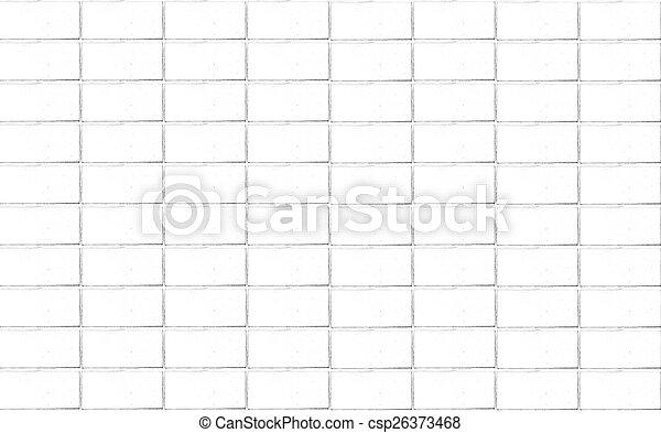 Brick wall background in white tone - csp26373468