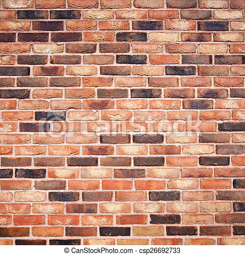 Brick wall background - csp26692733