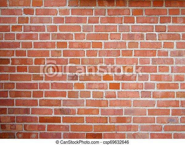 Brick wall background texture - csp69632646