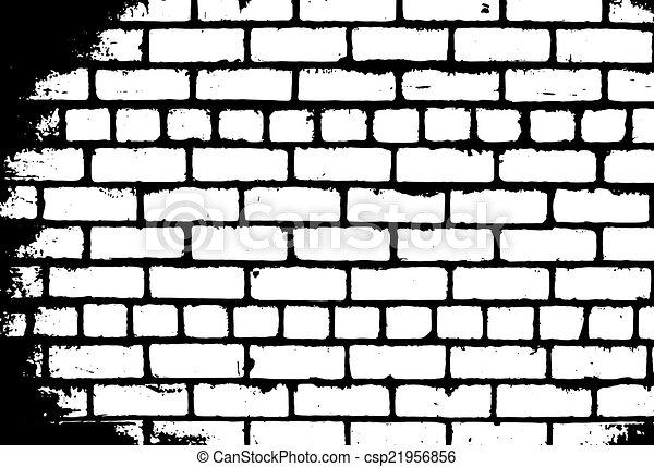 Brick wall - csp21956856