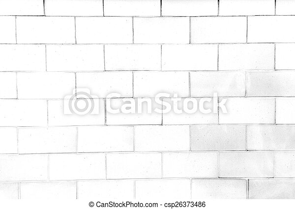 Brick wall in orange yellow tone - csp26373486
