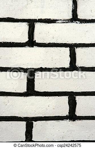 Brick wall - csp24242575