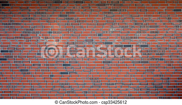Brick wall - csp33425612
