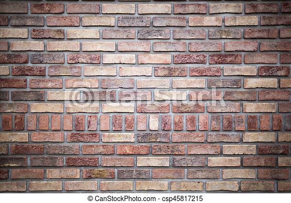 Brick wall - csp45817215