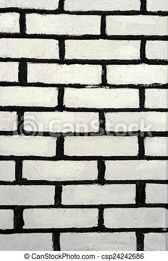 Brick wall - csp24242686