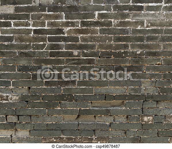 Brick wall - csp49878487