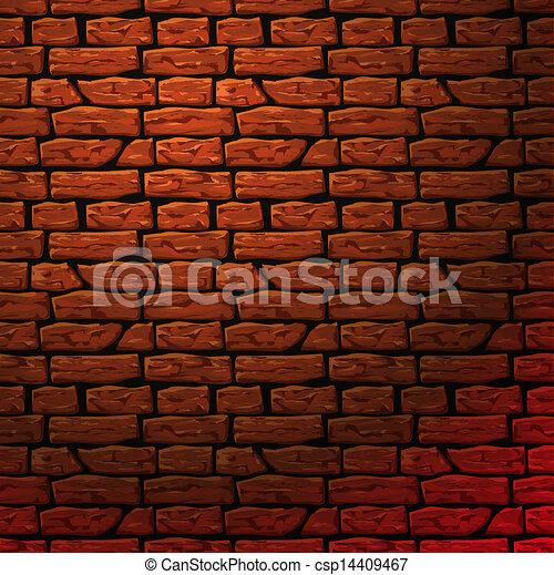 Brick Wall Seamless Patern Vector