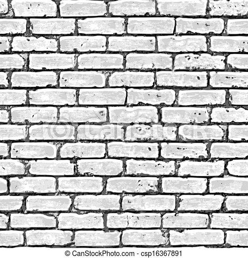 Brick wall seamless pattern. - csp16367891
