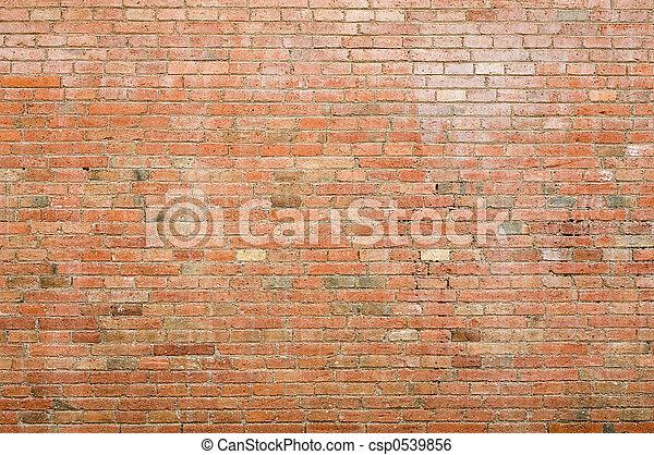 Brick wall - csp0539856