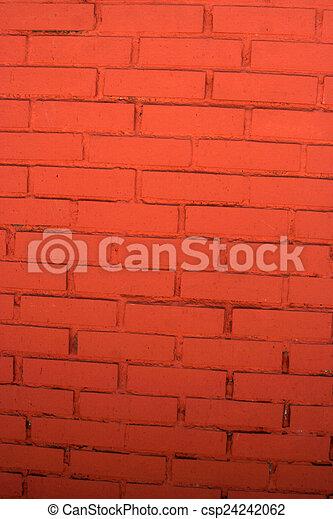 Brick wall - csp24242062