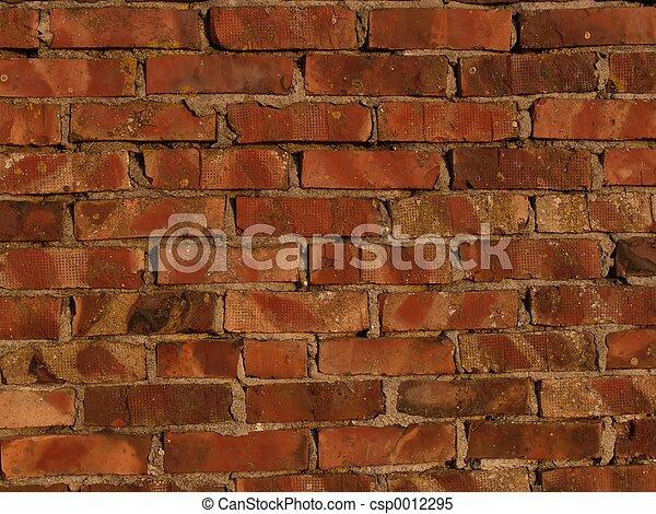 Brick Wall - csp0012295
