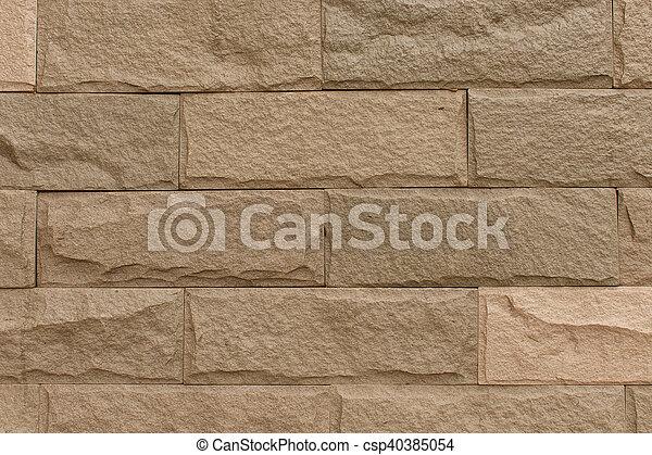 brick wall - csp40385054