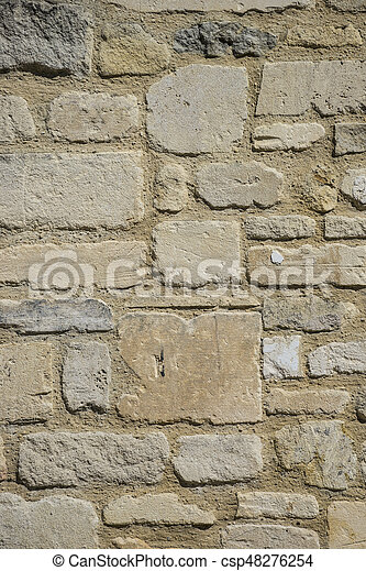 Brick wall. - csp48276254