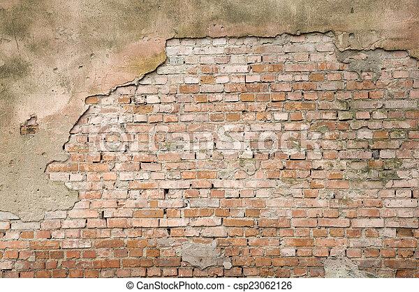 brick wall  - csp23062126