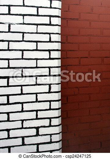 Brick wall - csp24247125